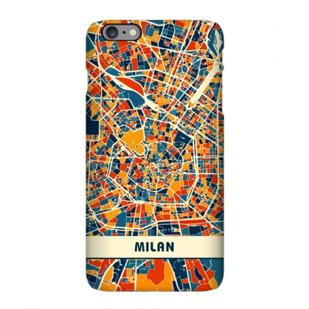 Italy Milan Turin Rome Florence map mobile phone case