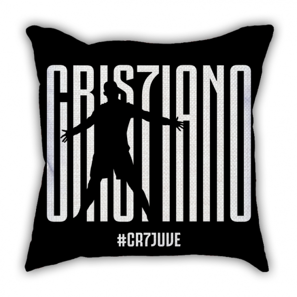 Juventus C Luo joined the pillow sofa cotton and linen texture car pillow