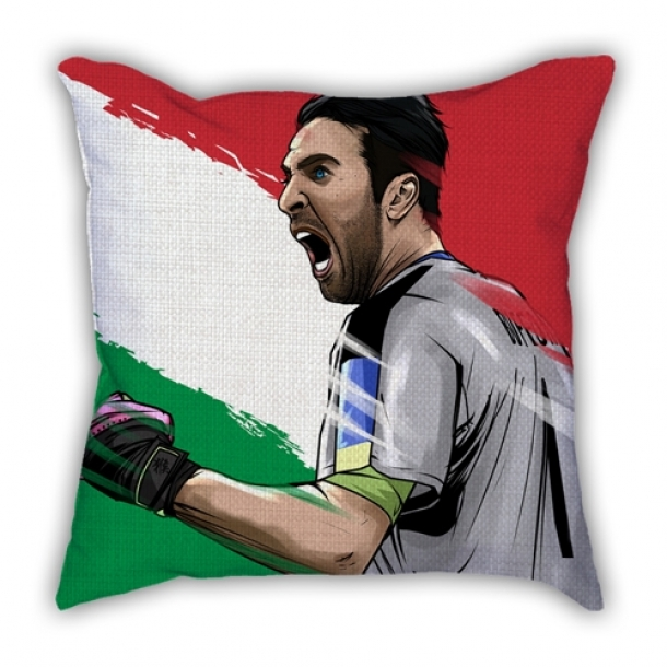 Italy Buffon Illustrator pillow sofa cotton and linen texture car pillow cushion gift