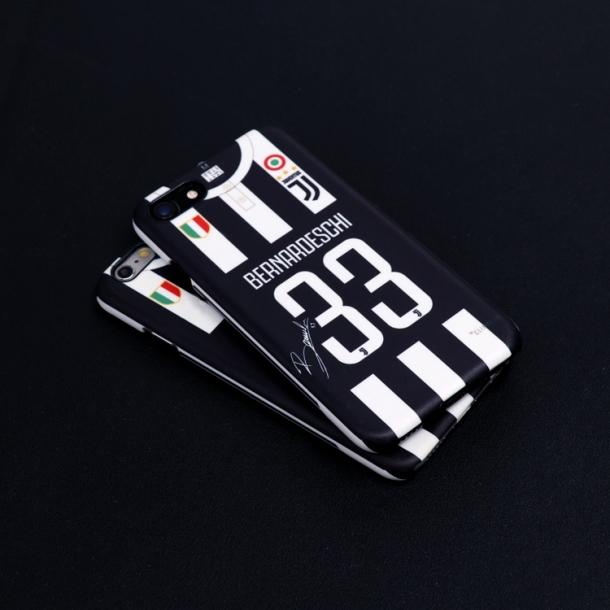 2017-18 season Juventus jersey phone case
