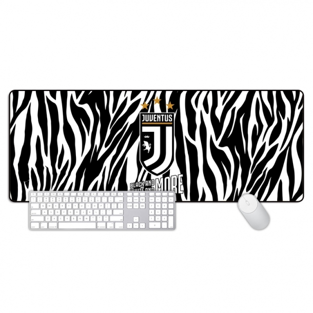 Juventus zebra pattern color oversized mouse pad Office keyboard pad table mat gift