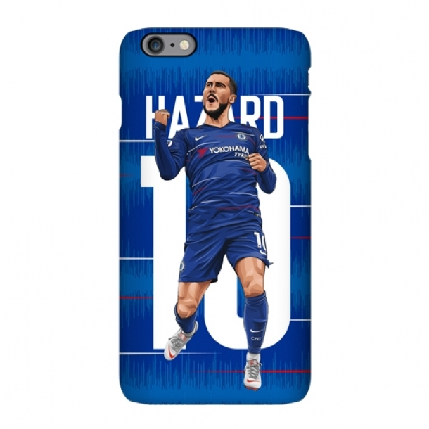 Chelsea Azar football illustration matte phone case