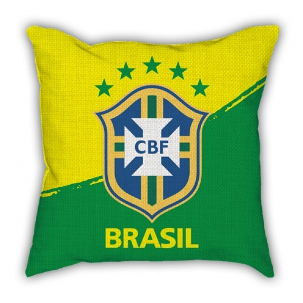 Football World Cup sofa cotton and linen texture pillow car pillow