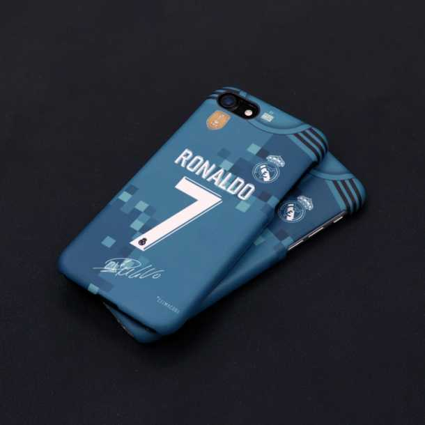 Real Madrid jersey iphone7 8 X 6plus mobile phone cases