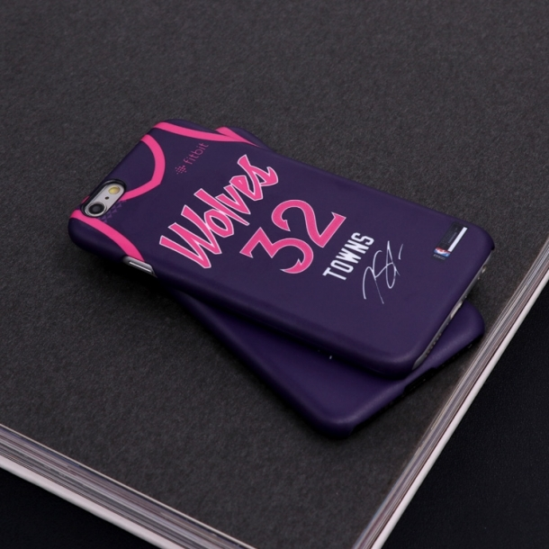 Forest wolf city jersey matte phone case