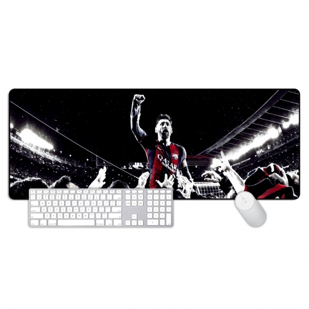 Messi classic celebration models large mouse pad Office keyboard mat table mat gift