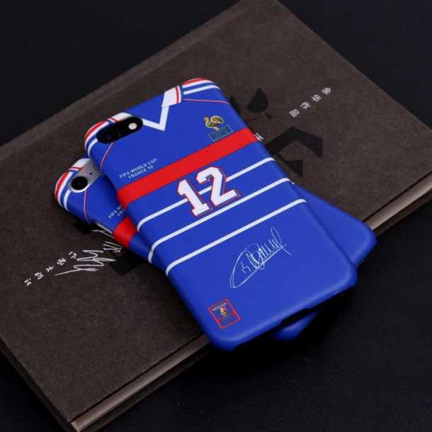 1998 French team Zidane Henry jersey phone cases