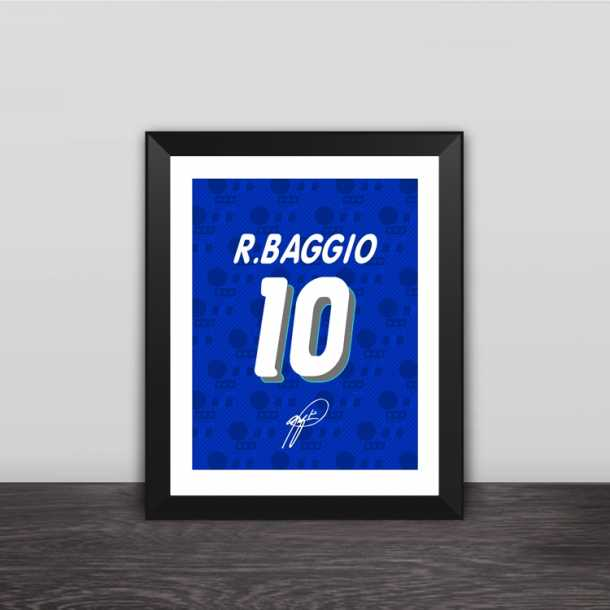 94 World Cup Baggio number commemorative wood decorative photo frame