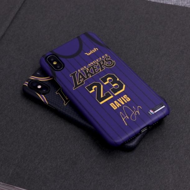 James Davis Los Angeles Lakers City Phone Case