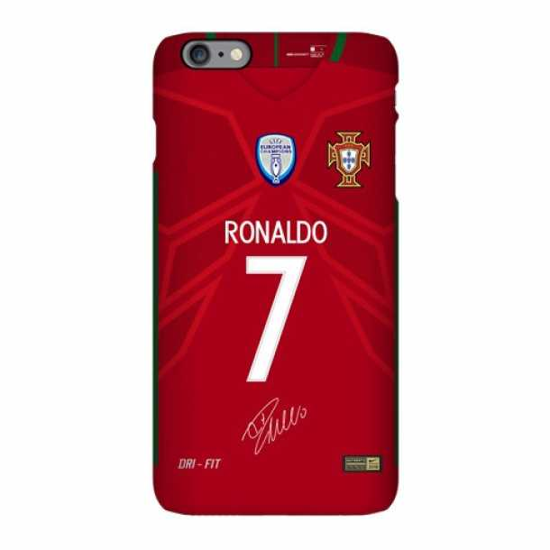 Portugal national team jersey matte phone case Real Madrid C Ronaldo