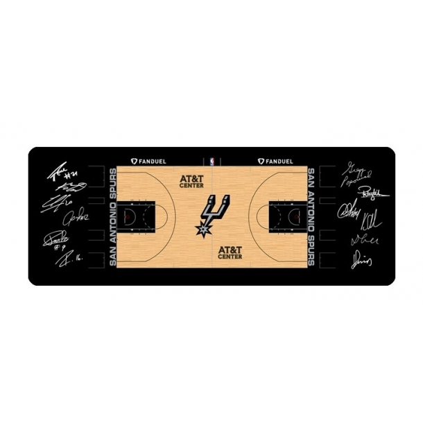 Warriors, Lakers, rockets and Spurs mouse mat