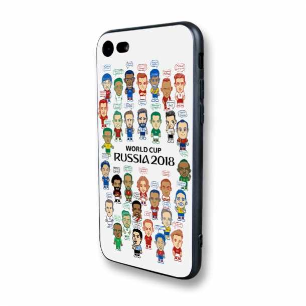 2018 World Cup Germany Argentina Spain Football Star Phone Case