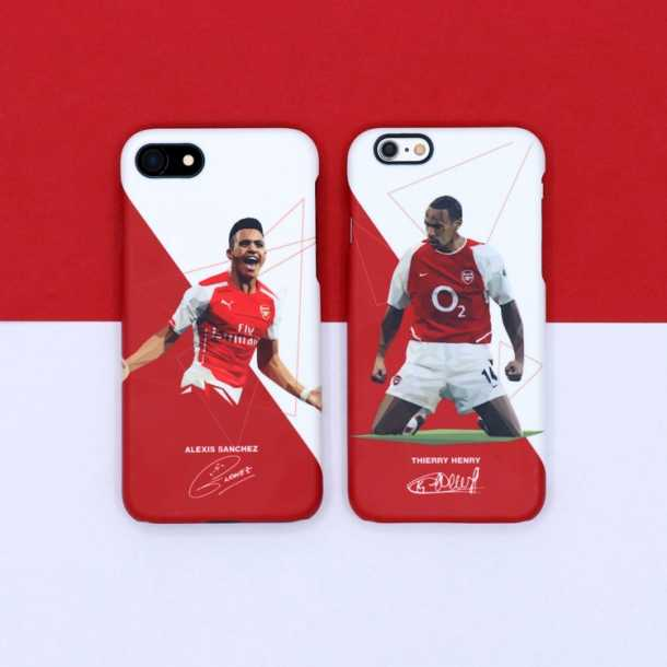 Henry Ozil Sanchez Arsenal player iphone case