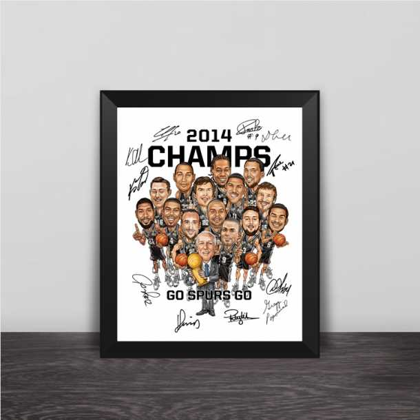 Lakers Warrior Knight Spurs Champion Cartoon Series Solid Wood Decorative Photo Frames Photo Fans Gifts