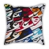 Ball King Messi career cartoon sofa cotton and linen texture pillow car pillow