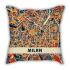 AIR JORDAN Joe 1 sneakers illustration pillow sofa cotton and linen texture car pillow