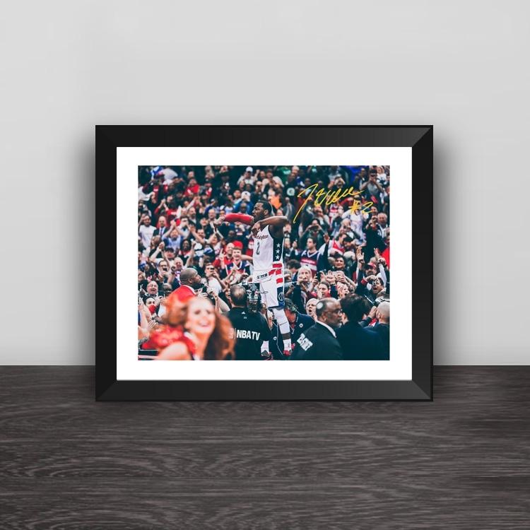 Warriors 73 wins team signature replica solid wood photo frame frame