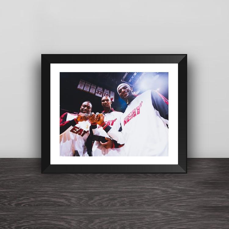 Garnett vs James photo frame
