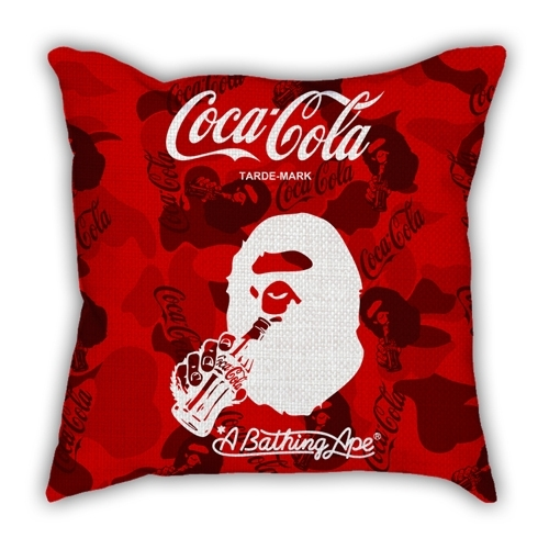 City series Barcelona map pillow sofa cotton and linen texture car pillow
