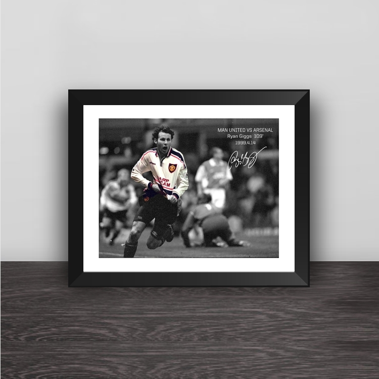 Celtic Owen jersey illustration solid wood decorative photo frame photo wall table hanging frame