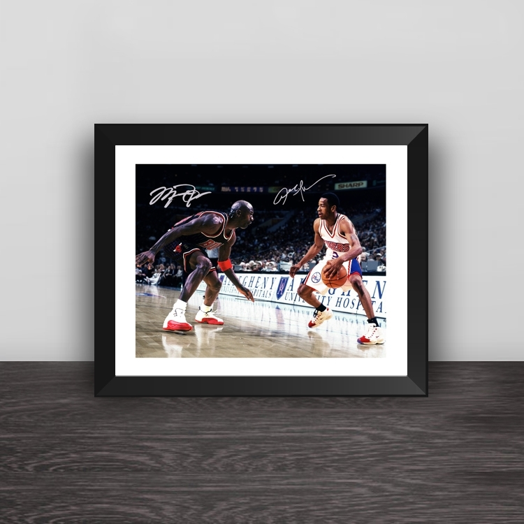 Raptors Leonard champion solid wood decorative photo frame photo wall table hanging frame