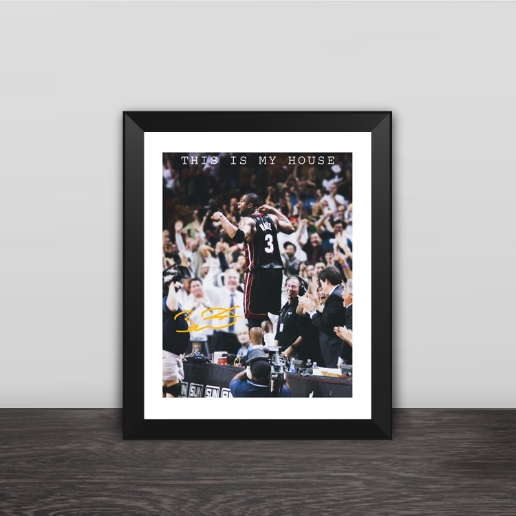 Fans Gift Frames Lakers Warriors Rockets Lone Ranger Celtic Spurs