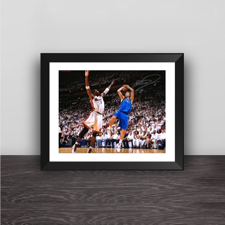 Lakers Kobe Bryant illustration solid wood decorative photo frame photo wall table hanging frame