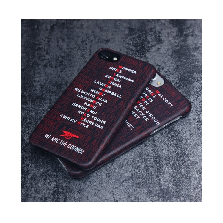 Red Devils Liverpool Real Madrid Barcelona Glass Silicone Phone Case