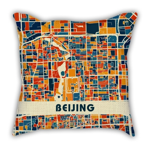 China Guangzhou City Art Map Solid Wood Decorative Photo Frame Photo Wall Table Hanging Frame