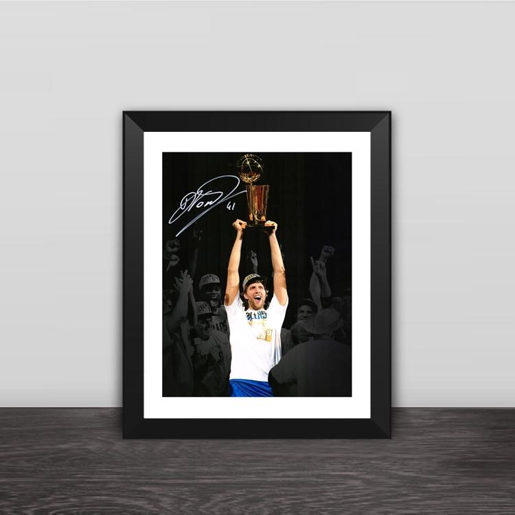 1995 Ajax Champions Champion Classic lineup solid wood decorative photo frame