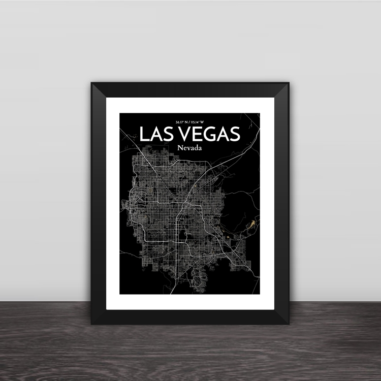 Miami map line drawing art illustration solid wood decorative photo frame photo wall