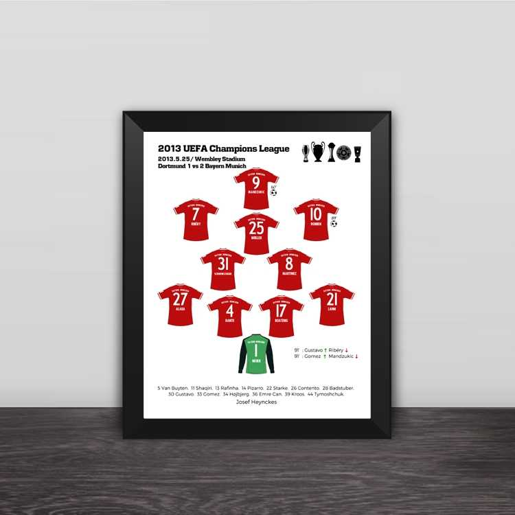 2015 Guangzhou Evergrande Asian champion classic lineup photo frame