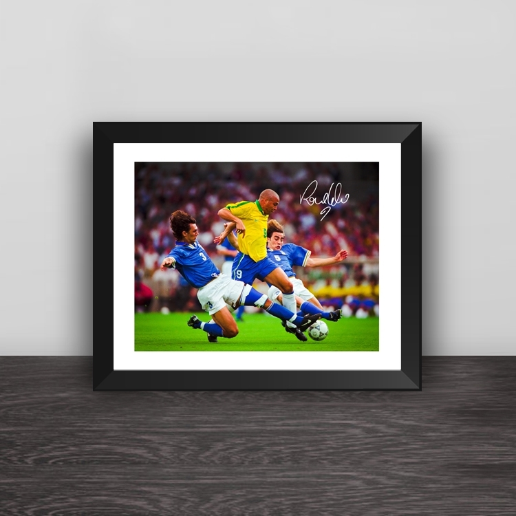 Argentina Maradona head art illustration solid wood decorative photo frame photo wall