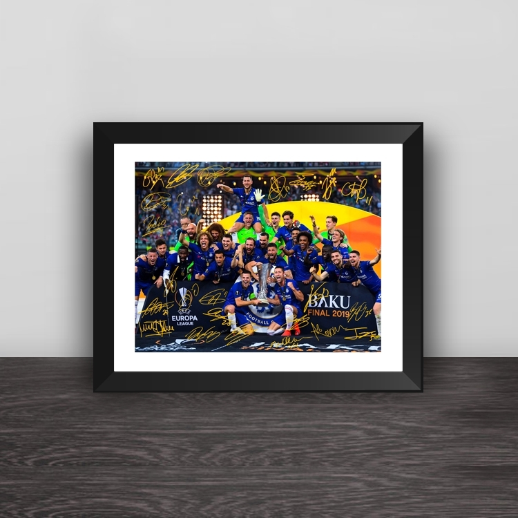 2000 Los Angeles Lakers champion line up photo frame