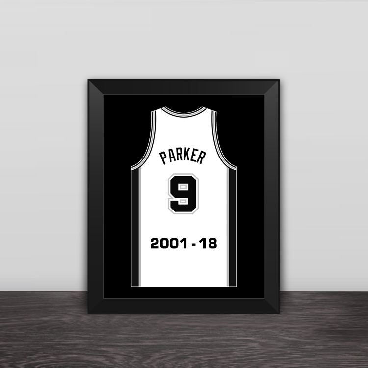 Kobe career last cast wood decorative photo frame photo wall table pendulum art hanging frame