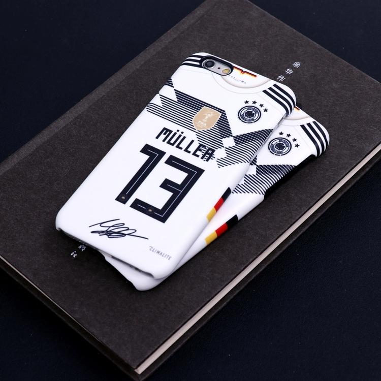 17-18 AC Milan jersey matte iphone7 X 6s plus cases