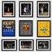 Curry James Owen Durant Kobe lore signature signature ornaments basketball pendant Fan gift photo frame