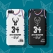 2019 All-Star Jersey Mobile cases Bucks Letter Brother