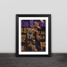96 gold generation solid wood decorative photo frame photo wall table set Kobe Ray Allen Iverson Nash fans gift