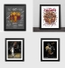 Cavaliers James classic poster photo frame basketball fans ornaments Lakers fans around the commemorative gifts