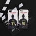 Rome Totti retired back shadow matte phone case