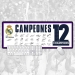 Real Madrid 12 crown commemorative models large mouse pad Office keyboard pad table mat