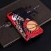 Flying man Jordan three consecutive crown illustration matte phone case