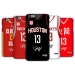 Houston Rockets jersey home and away 3D matte phone case
