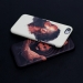 James Harden celebrates action with salted scrub phone case