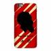 Rockets James Harden silhouette head portrait scrub phone case