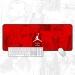 Michael Jordan flying man evolution history large mouse pad