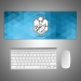 Ins Nordic creative mouse pad Super large seam padded waterproof desk wrist pad rubber mouse pad