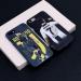 Juventus C Luo back art art illustration mobile phone case Ronaldo