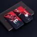 Red Devils Famous Illustration Giggs Scholes Cantona matte phone cases